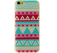 Light Green Stripe Pattern PC Hard Case for iPhone 5C