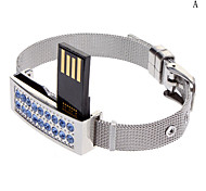 Beautiful Diamond Bracelet Flash Drive 16G