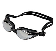 Fashionable Anti-fog and Waterproof Electroplating Silicone Unisex Swimming Glass/Goggles