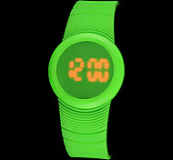 Unisex Touch Screen LED Digital Silicone Band Wrist Watch (Assorted Colors)
