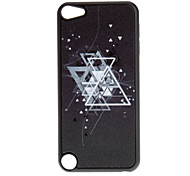 Shimmering Overlapping Triangle Pattern Hard Case for iPod touch 5