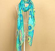 Mode Bohême écharpe colorée