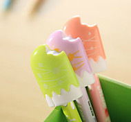 A Bite Of Ice Cream Shaped Ballpoint Pens (Random Color)