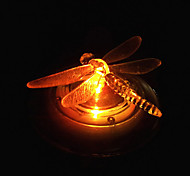 Solar Dragonfly Estilo RGB LED Table Lamp Lawn Jardim Luz IP656