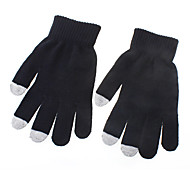 Comfortable Woolen Touch Gloves for iPhone, iPad and All Touchscreen Devices (Assorted Colors)
