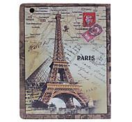 Tour Eiffel et Londres Carte Housse de protection pour l'iPad 2/3/4