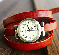 Women's Watch Bohemian Multilayered Leather Bracelet
