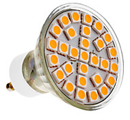 Lâmpada de Foco GU10 5 W 390-430 LM 3000 K Branco Quente 29 SMD 5050 AC 220-240 V
