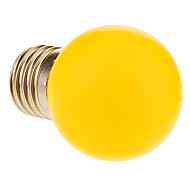 E26/E27 1 W 12 60 LM Warm White Globe Bulbs AC 220-240 V