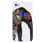 Stile Etnico Vestita modello Elephant Hard Case per iPhone 4/4S