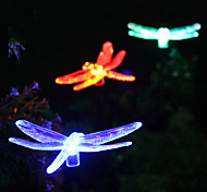 Solar RGB Dragonfly Garden Stake Light