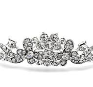 wedding tiara lega d'argento per la sposa (1pc)