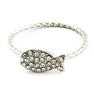 Fish Unisex Fashion Ring(Random Color)