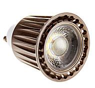 Lâmpada de Foco GU10 5 W LM 6000 K Branco Frio 1 COB AC 220-240 V