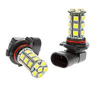 9006 2W 24x5050SMD 150-170LM 6000K Cool White LED Light Bulb (12V) 2 PCS