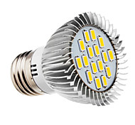5W E26/E27 LED Spotlight 16 SMD 5730 420-450 lm Warm White AC 220-240 V