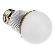Globe Bulbs , E26/E27 3 W LM Warm White AC 85-265 V