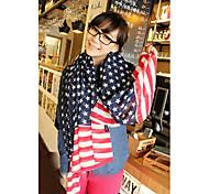 USA-Flaggen-Muster Schal