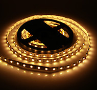 5M 60W 60x5050SMD 3000-3600LM 2800-3200K Warm White Light LED Strip Light (DC12V)