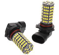 9006 6W 118x3528SMD 530-560LM 6000-6500K luz blanca fría del bulbo para el coche (12V) LED