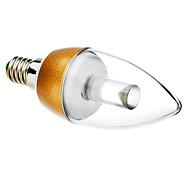 Lâmpada Vela E14 4.5 W 300 LM 3000 K Branco Quente 9 AC 220-240 V C