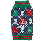 Cool Skulls Pattern Loveable Dog Sweater for Pets Dogs (Assorted Sizes)
