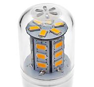 Bombillas LED de Mazorca T E14 / G9 / GU10 / E26/E27 4W 24 SMD 5730 330-380 LM Blanco Cálido / Blanco Fresco AC 100-240 V