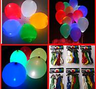 100pcs 7-Color Led Light Flashing Balloons (Random Color)