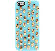 Para Funda iPhone 5 En Relieve Funda Cubierta Trasera Funda Calavera Dura Policarbonato iPhone SE/5s/5