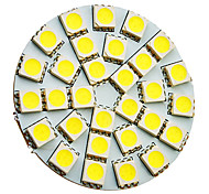 5W G4 LED Spotlight 30 SMD 5050 160-180 lm Cool White AC 12 V
