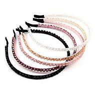 Doce Multicolor cristal Headbands para as Mulheres (preto, rosa e muito mais)