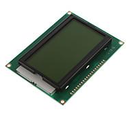 """5V 3.2 Módulo """"Screen LCD12864 con luz de fondo (amarillo y verde de la pantalla / Palabra Inglés Stock)"""