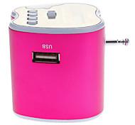 Mini Portable Stereo Music Speaker (Support USB/TF Card FM)