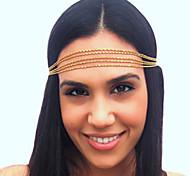 Metal Chain Thin 5-Layers Headband