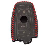 Handmade Genuine Leather Key Case for BMW Keys