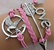 Women's Charm Bracelet Alloy/Rope