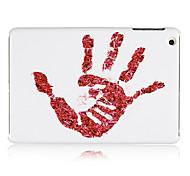 Red Palm Plastic Back Case for iPad mini 3, iPad mini 2, iPad mini