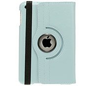 360 Degree Revolving Tabby Pattern Case for iPad mini 3, iPad mini 2, iPad mini (Assorted Colors)