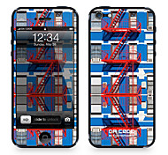 "Da Code ™ Skin for iPhone 4/4S: ""Red Fire Escapes"" (City Series)"