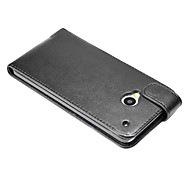 Elegant Ultra-thin PU Leather Cover Case for HTC One M7 4.7Inch Screen