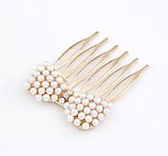 Sweet Style Pearl Bowknot Hair Sticks