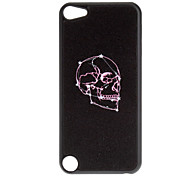 Shimmering Cool Skull Pattern Hard Case for iPod touch 5