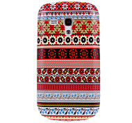 Nationality Style #001 Pattern Plastic Hard Back Case Cover for Samsung Galaxy S3 Mini I8190