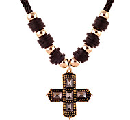 Xu™ Women's The Cross Retro Diamonds Necklace