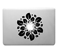 Leaves Circles Pattern Transparent PC Hard Case for MacBook Air (Assorted Colors)