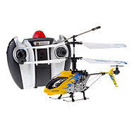 DFD F106 4CH RC Helicopter met Gyro & Light (geel)