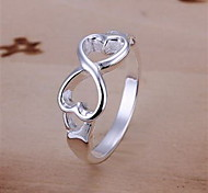 High Quality 925 Sterling Silver Infinity Ring