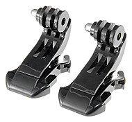 2xGoPro Hero2/3 J-Hook Buckle Black VGP-219328