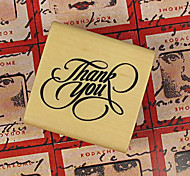 3 Styles DIY Thank You PatternWood Alphabet Stamp