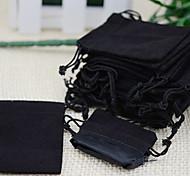 25pcs 5x7cm Velvet Drawstring Organza Pouch Bag